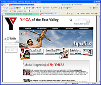 YMCA web site