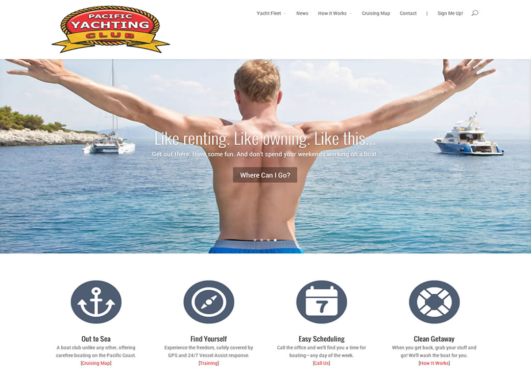 best newport beach websites